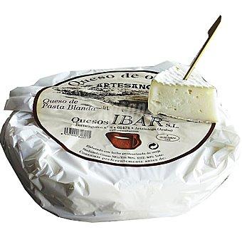 Ibar Queso tierno puro de oveja  1,2 kg (peso aproximado pieza)