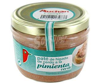 Auchan Paté a la pimienta Tarro de 125 gramos