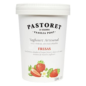 Pastoret Yogur artesanal sabor fresa 500 Gramos