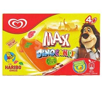 FRIGO Polos helados Max Dinocandy 4x50ml
