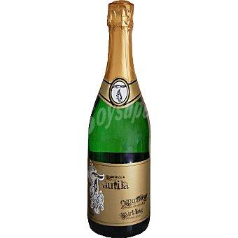 SEÑORIO DE LA TAUTILA Vino espumoso sin alcohol Botella 75 cl
