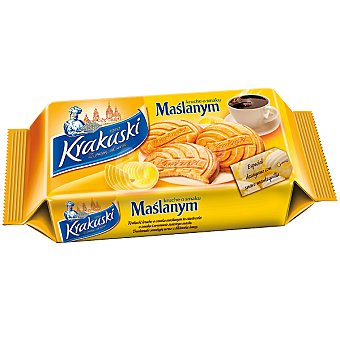 KRAKUSKI Maslanym Galletas con mantequilla Paquete 150 g