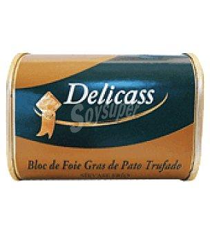 Delicass Bloc foie pato trufado 145 g