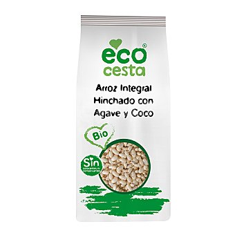 Ecocesta Arroz integral hinchado ecológico 350 G 350 g
