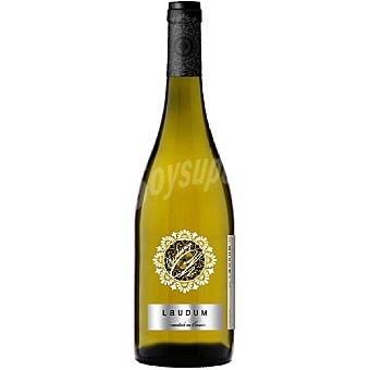 Laudum Vino blanco chardonnay fermentado en barrica Alicante botella 75 cl 75 cl