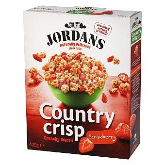 Jordans Cereales crunchy muesli de fresa Caja 400 g