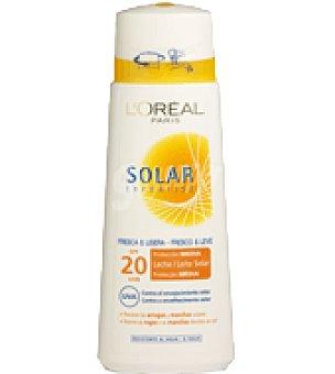 Expertise L'Oréal Paris Leche solar factor de protección 20 Bote de 250 ml