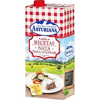 Central Lechera Asturiana Nata liquida para cocinar UHT ligera 18% materia grasa Envase 1 l