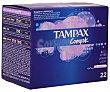 Tampones Compak Lites caja 22 unidades 22 unidades Tampax
