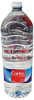 CORTES Agua mineral natural Botella de 2 l