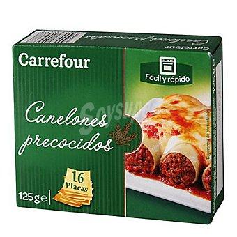 Carrefour Canelones precocidos 125 g