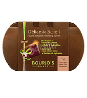 Bourjois Paris Polvo compacto soleil peaux mates t14 1 ud