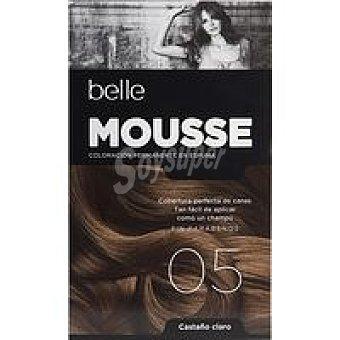 N.5 belle & PROFESSIONAL Tinte mousse cast. claro Caja 1 unid