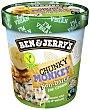 Non-Dairy helado de leche de almendras sabor plátano con trozos de chocolate y nueces Tarrina 500 ml Ben & Jerry's