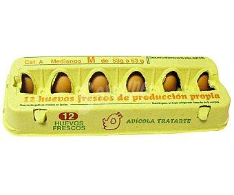 AVÍCOLA TRATANTE Huevos Clase M 12 Unidades