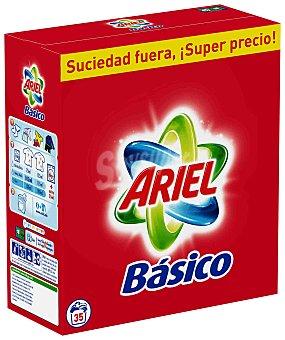 Maleta Detergente en polvo ariel Básico, 35 dosis Maleta 35 dosis