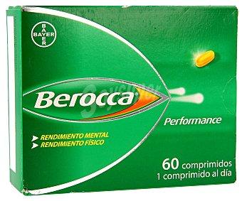 Berocca Complemento vitamínico para el rendimiento físico y mental 60 comprimidos