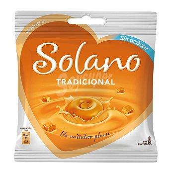 Solano Sabor tradicional caramelos sin azúcar Corazón 30 unidades 90gr