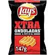 Patatas fritas al punto de sal  Bolsa 147 g Lay's Xtra Onduladas