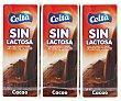 Batido Cacao sin Lactosa 3x200ml Celta