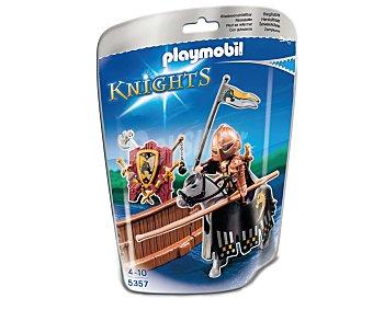 PLAYMOBIL Figura Knights El Caballero de torneo de la Orden del Caballo Salvaje, modelo 5357 de 1 unidad
