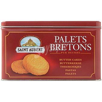 Saint Aubert Galletas de mantequilla Palets Breton Lata 750 g
