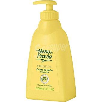 Heno de Pravia Crema de jabón líquido de manos original dosificador 300 ml dosificador 300 ml