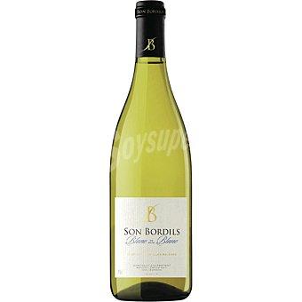 SON BORDILS Blanc de Blacs Vino de la Tierra de la Islas Baleares botella 75 cl Botella 75 cl