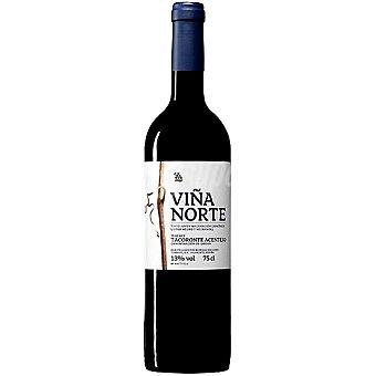 Viña Norte Vino tinto de maceración carbónica D.O. Tacoronte Acentejo botella 75 cl Botella 75 cl