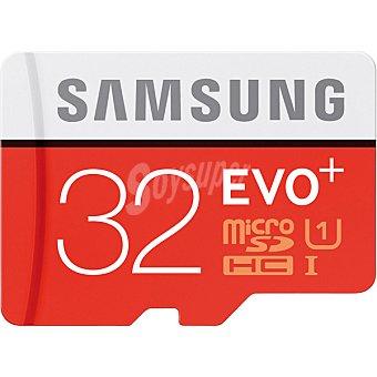 SAMSUNG Tarjeta de memoria MicroSDHC EVO+ de 32 GB