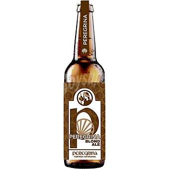 Peregrina Cerveza rubia Premium de Galicia  Botella de 33 cl