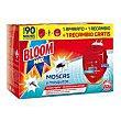 Max Insecticida eléctrico moscas y mosquitos 1ap.+2rec  Bloom