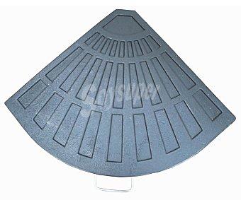 GARDEN STAR Base triangular de hierro para sombrillas. Peso: 12 kilos 1 unidad