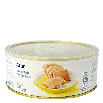 Carrefour Atún en aceite vegetal 650 g