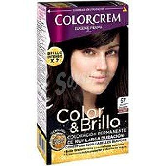 Colorcrem Tinte marron chocolate N.57 Caja 229 g