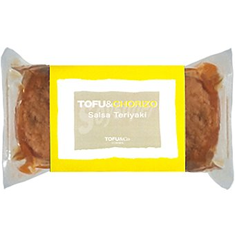 ECO KAWAII TOFU&CO Tofuguesa Chorizo con tofu y salsa teriyake Envase 150 g