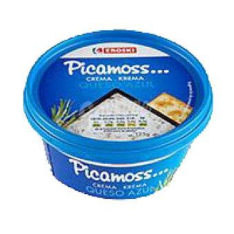 Eroski Crema de queso azul Tarrina 125 g