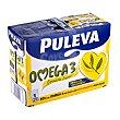 Preparado lacteo omega 3 con leche desnatada Brik pack 6 x 1 l - 6 l Puleva