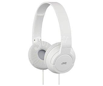 Jvc Auricular cerrados tipo casco HA-S180-W-E con cable, blanco con cable, blanco