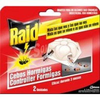 Raid Trampa hormigas 2u
