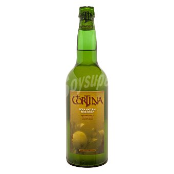 Cortina Sidra natural ecológica asturiana Botella de 75 cl