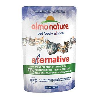 Almo Nature Alternative comida húmeda para gatos adultos con atún del pacífico Envase 55 g