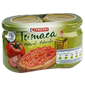 Eroski Tumaca natural Pack 2x185 g
