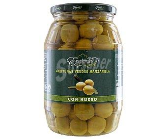 Excelencia Aceitunas verdes manzanilla con hueso 500 gramos