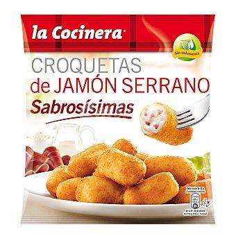 LA COCINERA Croquetas de jamón serrano bolsa 500 g