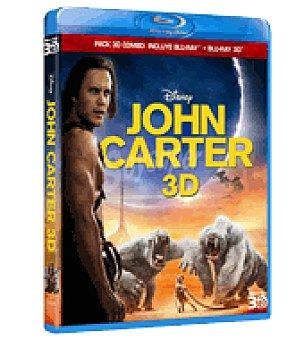 John carter combo br+ dvd 3D