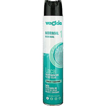 Veckia Laca fijacion normal con provitamina b5 acabado natural spray 400 spray 400 ml