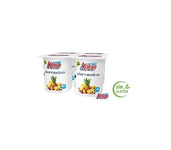 Kalise Yogur sabor macedonia sin gluten Pack 4 unidades 125 g