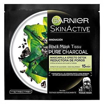 Garnier Skin Active Mascarilla efecto detox reductora de poros Garnier-Skin Active 1 ud