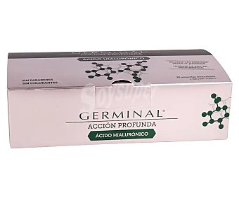 Germinal Ampollas antiarrugas que rellenan las arrugas desde el interior 30 uds